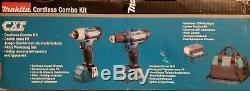 12V Makita Lithium-Ion 3 pc Combo Kit Drill/Impact Wrench/Flashlight CT323 New