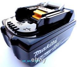 2 NEW GENUINE 18V BL1830B-2 Makita Batteries 3.0 AH Fuel Gauge For Drill, Saw