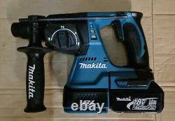 2020 Makita DHR242 18V Brushless SDS Plus Hammer Drill 24mm 3.0Ah Battery
