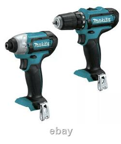 4 in1 PACK MAKITA MAX CXT Cordless 3/8 Drill +Impact TOOL ONLY + BAG + 100 Tools