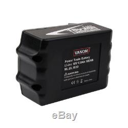 4X For Makita BL1860 BL1830 LXT 18V 6.0Ah Lithium Battery BL1840 Drill US Stock