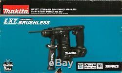 Brand New Makita LXT Sub Compact Brushless 18V 11/16 Rotary Hammer Drill XRH06ZB