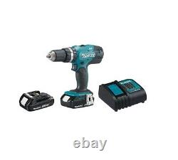 DHP453X10 1/2-in. 18V Hammer Drill with 1 1.5AH Battery and Charger Makita