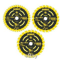 Dewalt XR 18v 7 Piece Brushless Kit + 3 x 5.0Ah Li-Ion Batteries Charger + Bag