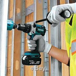 Hammer Driver-Drill, 1/2 Blk 18V BL/Brushless Li-Ion, Cordless 2Batteries Case