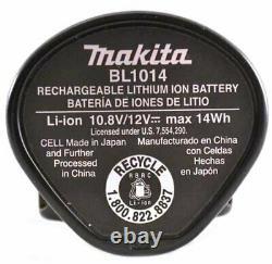 MAKITA 12V Volt Li-Ion Cordless 3/8 Driver Drill FD02 FD02ZW +Battery MFR Refur