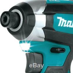 MAKITA 18 Volt Brushless Cordless Hammer Drill + Impact Driver Combo Kit Set NEW