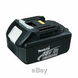 MAKITA 18V BHP458 BHP458Z COMBI DRILL, 2 x BL1830 BATTERIES & DC18RC CHARGER