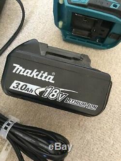 MAKITA 18V DHP458 COMBI Cordless DRILL 3ah Li-ion Battery & DC18RA Fast Charger