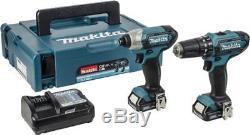 MAKITA CLX202AJ 10.8 2Ah Drill & Impact Driver Twinpack