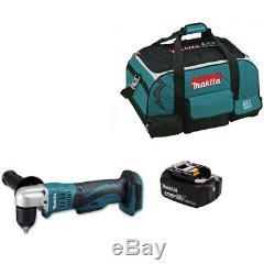 MAKITA DDA351Z DBA351 18V LI-ION LXT ANGLE DRILL + 1 BL1840 BATTERY + LXT400 Bag