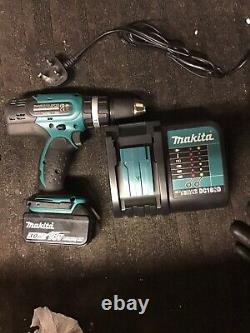 MAKITA DHP453 LXT 18V COMBI DRILL DRIVER + 3Ah Battery DC18SD charger