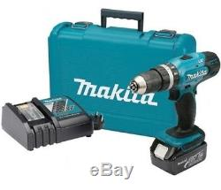 MAKITA DHP453SF 18V LTX 2 SPEED COMBI DRILL WITH 1 x 3.0AH LI-ION BATTERIES