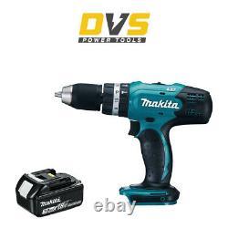 MAKITA DHP453Z LXT 18V COMBI DRILL DRIVER + 3Ah Battery BL1830B BL1830