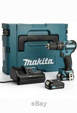 MAKITA HP332DSAJ 10.8V CXT Brushless Combi Drill + 2x2Ah Batteries/Charger /Case