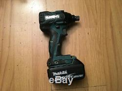MAKITA LXT BRUSHLESS IMPACT DRILL DTD129 WITH 4.0Ah BATTERY