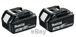 MAKITA LXT CORDLESS 18V COMBI DRILL 2 x 3Ah BATTERIES & CHARGER! DHP453SFE