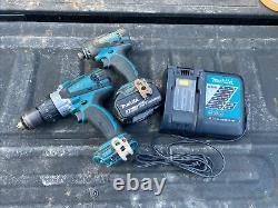 Makita 1/2 Hammer Drill Driver (XPh03) Impact Driver (LXDT04) 18V Combo Set