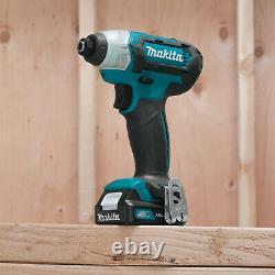 Makita 1.5Ah Cordless 3/8 Driver-Drill & Impact Driver Combo Kit