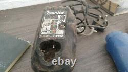 Makita 10.8v Impact + Driver Drill Set + Case DF330D TD090D Charger, + Li-ion