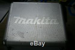 Makita 10.8v Li-ion Combi Drill Driver Set 2 Batteries & Charger White Hardcase