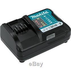 Makita 12V Max CXT Lithium Ion Cordless Impact Drill & Driver Drill Combo Kit