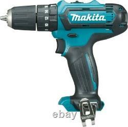 Makita 12v CXT 3pc Kit Combi Hammer Drill + Impact Driver + Vacuum 2 Battery