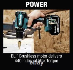 Makita 18-Volt LXT Li-Ion Brushless Cordless 1/2 in. Driver-Drill Kit 3.0Ah NEW