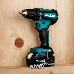 Makita 18-Volt LXT Lithium-Ion Brushless Cordless 1/2 in. Driver-Drill Kit