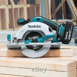 Makita 18-Volt LXT Lithium-Ion Brushless Cordless Combo Kit Hammer Drill/ Sawith