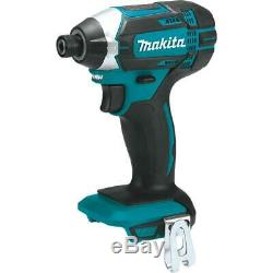 Makita 18-Volt LXT Lithium-Ion Cordless 6-Piece Kit Drill-Driver/Impact Driver/