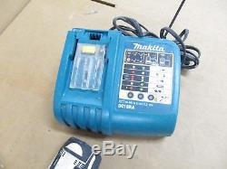 Makita 18V BTD142 1/4 Impact Drivers & BDF452 1/2 Drill Driver Combo Kit
