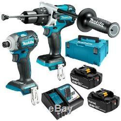 Makita 18V Cordless Brushless Combi Hammer Drill DHP481Z Impact Driver DTD171Z