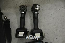 Makita 18V Cordless Combo XFD10 Drill & XDT11 Impact Driver, 2-2A Batt & Charger