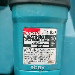 Makita 18V Cordless Tool Set drill circular saw reciprocating saw battery & case