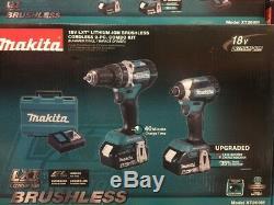 Makita 18V Impact Driver & Hammer Driver Drill XT269M + XTR01Z Router Combo kit