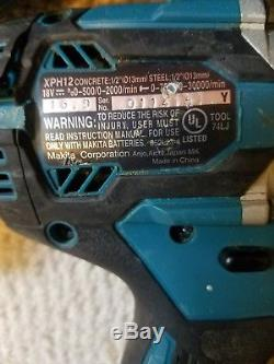 Makita 18V LXT 3 Tool Cordless Combo. Brushless, 2-4,0Ah. Drill, impact, saw