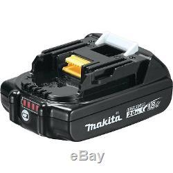 Makita 18V LXT Brushless Cordless Impact Driver & Drill Combo Kit with Batteries