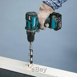Makita 18V LXT Compact Brushless Cordless Driver Drill Power Tool Kit with Battery