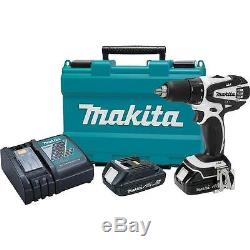 Makita 18V LXT Cordless 0.5 Driver Drill Kit with Charger & Batteries XFD01RW