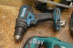 Makita 18V LXT Cordless 6-Pc Combo Kit Saw reciprocating drill battery charger