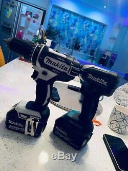 Makita 18V LXT Li-ion Combi Drill & Impact Driver Twin Pack inc 1 4AH and 1 3AH