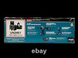 Makita 18V LXT Lithium-Ion Brushless 2-PC Combo Kit (Hammer Drill / Impact Dr.)