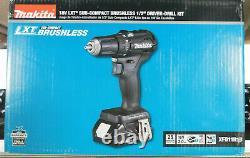 Makita 18V LXT Sub-Compact Brushless 1/2 Driver-Drill Kit Brand New