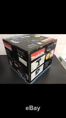 Makita 18V Li-ion Cordless Combi Drill & Jigsaw Twin Set includes 2 Batteries