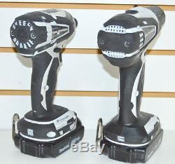 Makita 18V Lithium-Ion Cordless Impact Drill Driver Combo Kit XFD01 XDT04