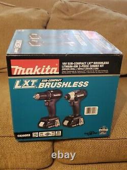 Makita 18V Sub-Compact Lith-Ion Driver/Drill & Impact Driver Kit Model CX200RB