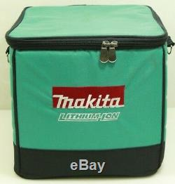 Makita 18V XFD11 1/2 Drill, XDT15 Impact Compact 18 Volt with 2 Batteries & Case