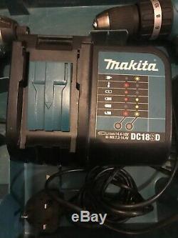 Makita 18v 4.0Ah Twin driver set DLX2142SM Drill & Impact Driver