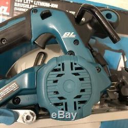 Makita 18v Combo-Brushless Circular Saw, Impact Driver, Drill, Charger, Battery